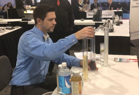 Mixing drinks with science