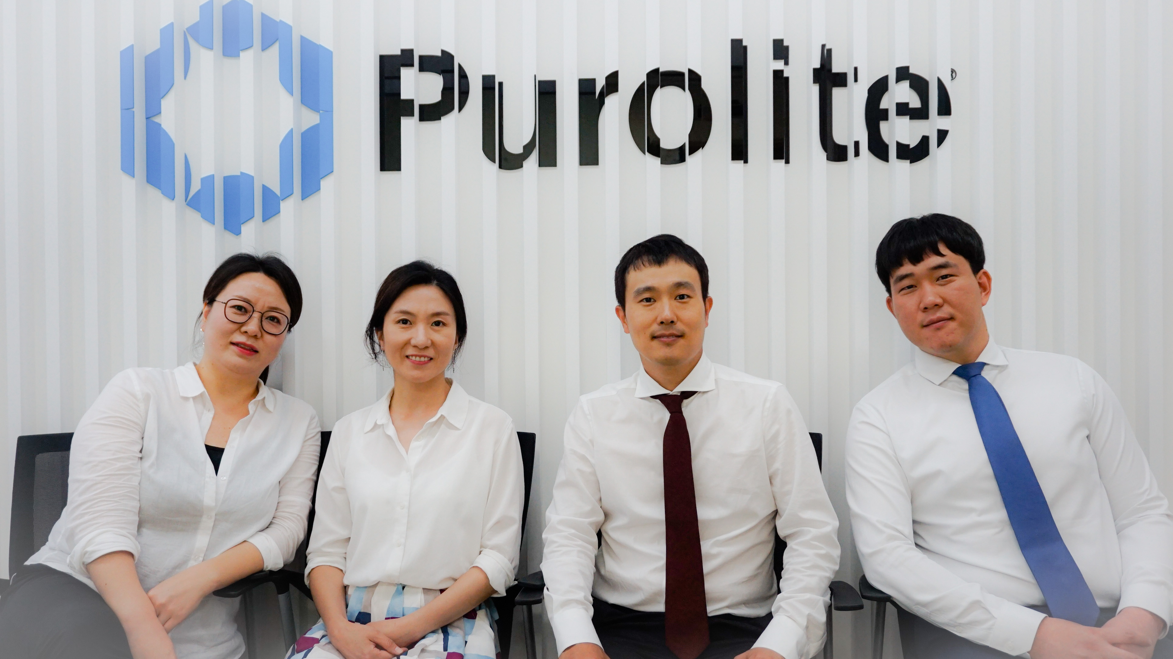 korea office group photo