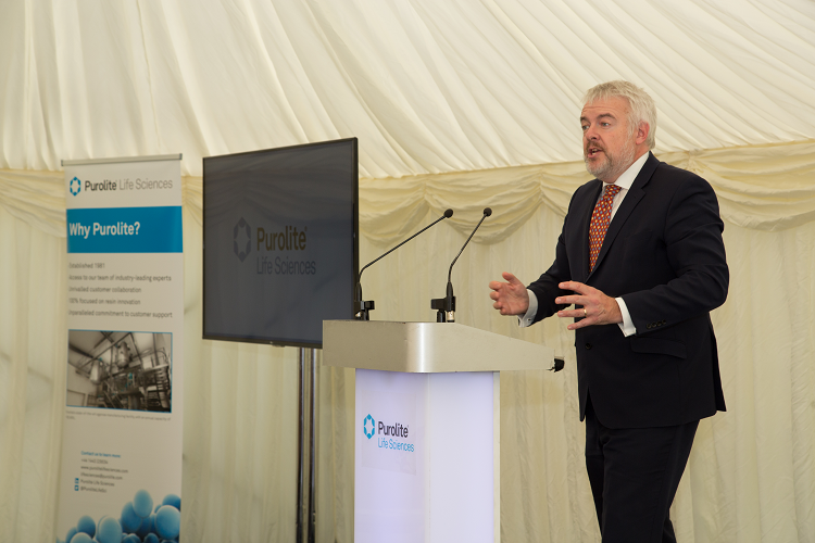 Carwyn Jones Speech - Agarose Plant Opening
